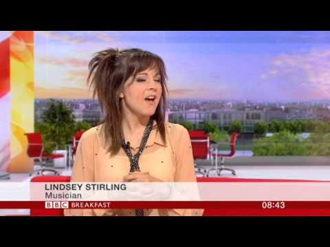 Lindsey Stirling Interview BBC Breakfast 2013
