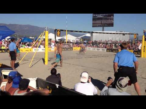 AVP Beach Volleyball Santa Barbara, CA 2013