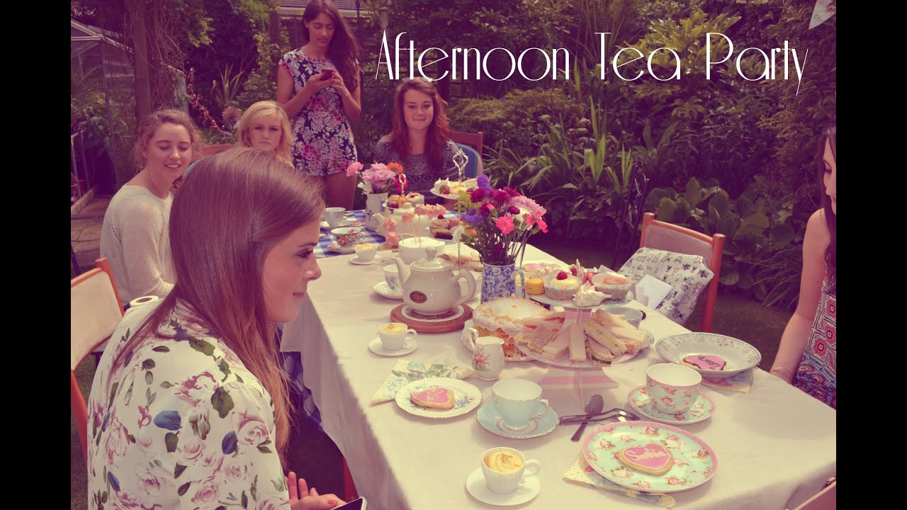 Birthday Afternoon Tea Party Ideas Set Up And Haul Helsbels
