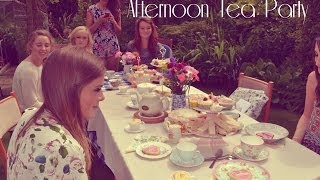 Birthday Afternoon Tea Party | Ideas, Set Up and Haul | HelsBels