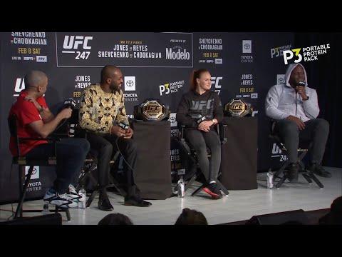 Пресс-конференция перед UFC 247