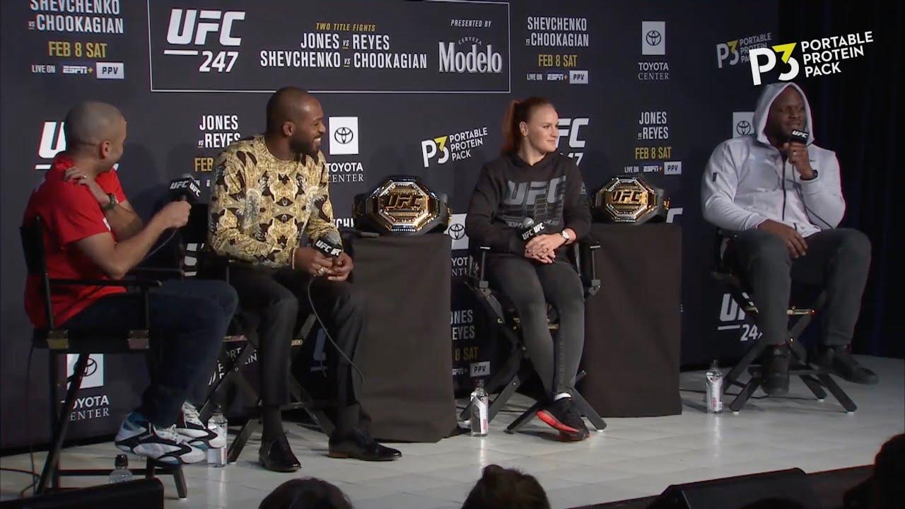 Пресс-конференция UFC 247 (06.02.2020)