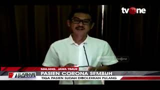 Tiga Pasien Covid-19 di Malang Dinyatakan Sembuh | tvOne