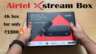 Airtel Xstream Box Unboxing & Review || Should you buy it?