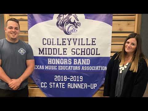 Colleyville Middle School Teacher of the Year - Lauren Jones