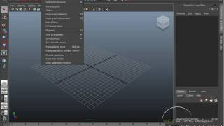 Maya Beginner Basics 1/10: User Interface [Tutorial #01]
