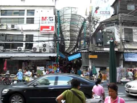 Chinatown in Bangkok Eingang zur Sampeng Lane