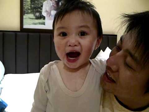Cute Baby Saying I Love You Youtube