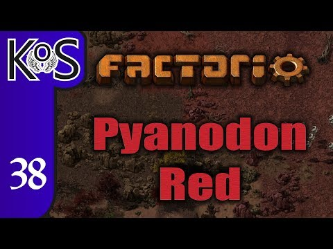 Factorio Pyanodon Red Ep 38: CIRCUIT CONSTRUCTION - 0 16 - Gameplay