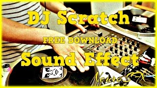 [HQ] Record Scratch Sound Effect (FREE DOWNLOAD)