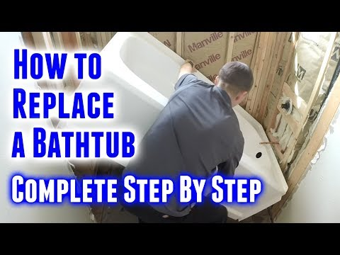 How to Replace A Bathtub (Step By Step)