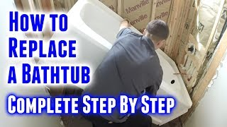 How to Replace A Batнtub (Step By Step)