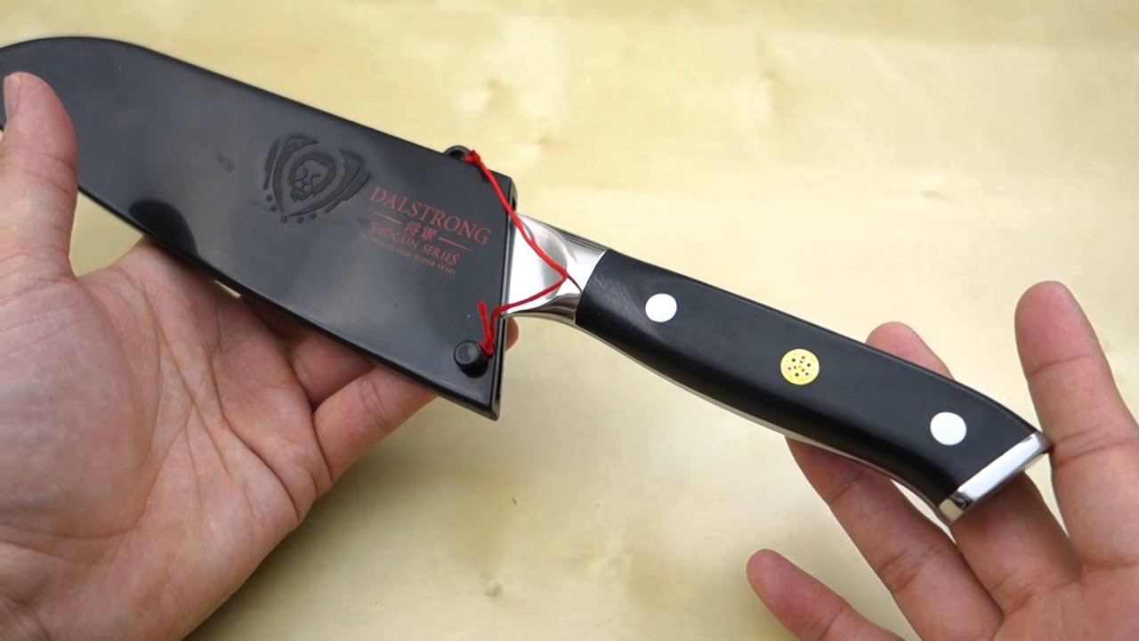 Dalstrong 7 Quot Shogun Series Santoku Knife Review Youtube