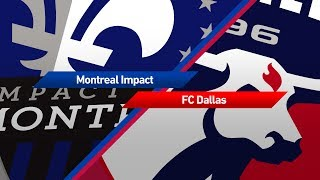 Video Gol Pertandingan Montreal Impact vs FC Dallas