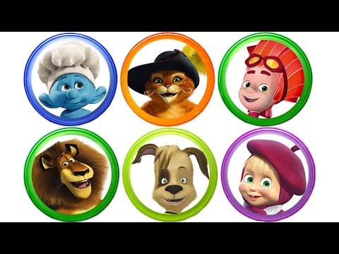 Киндер Сюрприз. Барбоскины. Маша и Медведь. Фиксики. Видео для детей. Surprise Eggs for Kids