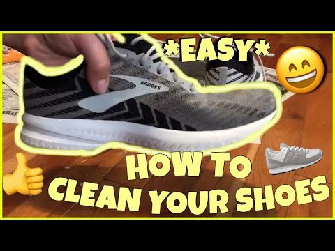 HOW TO WHITEN & CLEAN YOUR SHOES - SUPER EASY