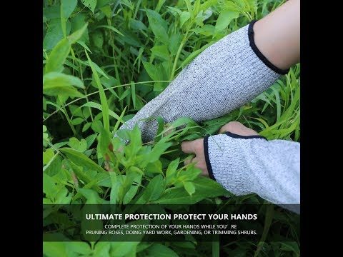 Safety Arm Sleeve Anti Cut Puncture Proof Gloves