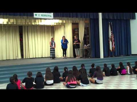 Rose Elementary School Ignite award ceremony