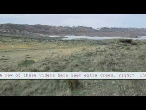 Seminoe Reservoir and Independence Rock