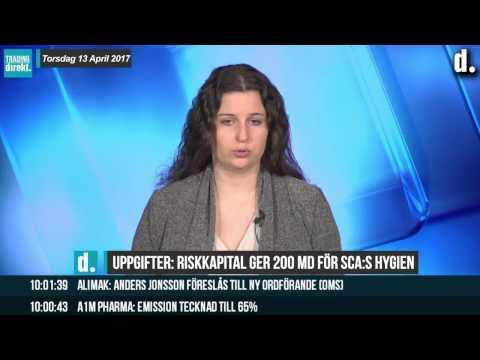 Trading Direkt 2017-04-13 Riskkapital ute efter SCA:s hygiendel