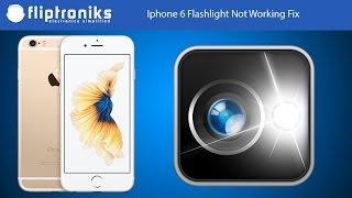 Iphone Flashlight Not Working Fix