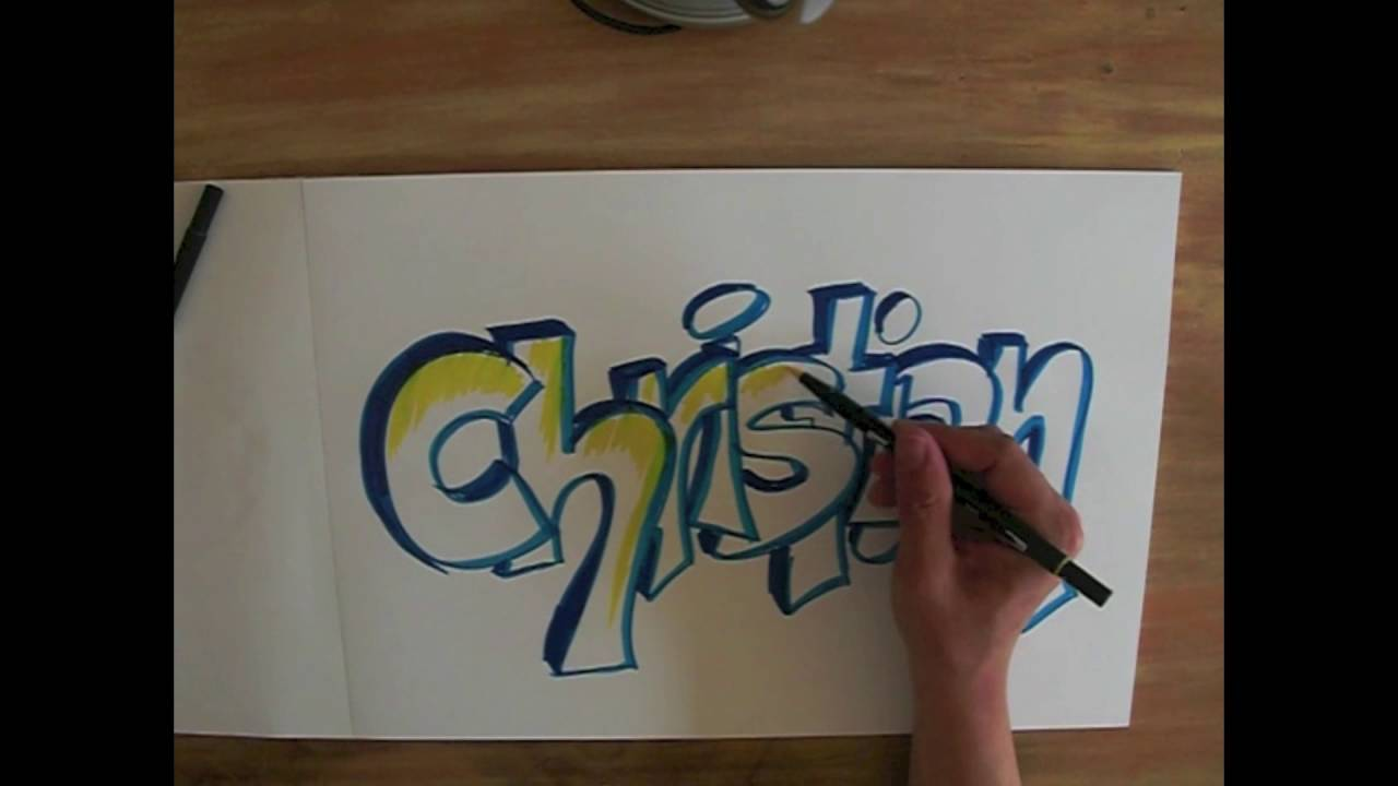 graffiti schrift lernen how to draw graffiti youtube. Black Bedroom Furniture Sets. Home Design Ideas