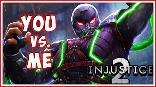 INJUSTICE 2 - You vs. Me! Live 1vs1 Matches! | Blitzwinger