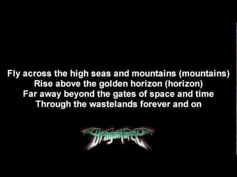 DragonForce - Cry Of The Brave | Lyrics on screen | HD