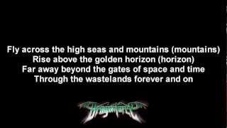 DragonForce - Cry Of The Brave | Lyrics on screen | HD