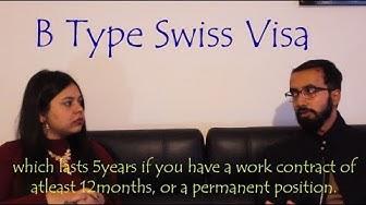 JOB IN SWITZERLAND AS POSTDOC | Swiss B Type Residence Permit|
