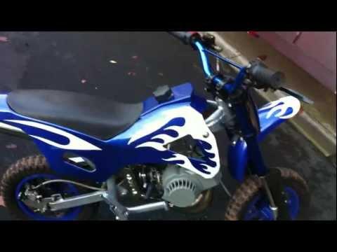 Mini Moto 50cc motorbike for sale.