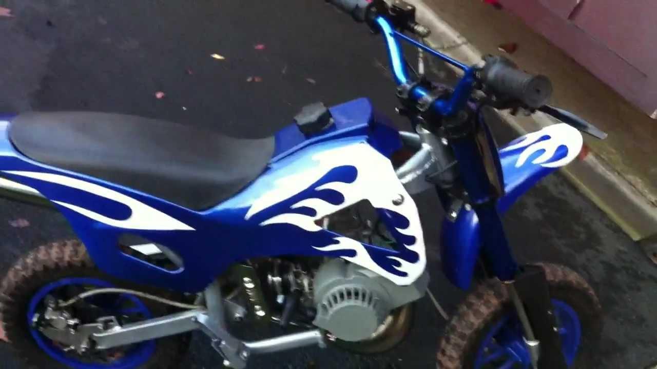 Mini Moto 50cc Motorbike For Sale Youtube