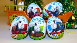 Киндер Сюрпризы Томас и его друзья Игрушки Видео для детей Thomas and Friends toy surprise