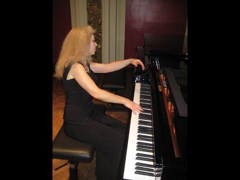 Sophia Agranovich - Chopin: Ballade No.2 in F Major/A minor at Vienna Ehrbarsaal
