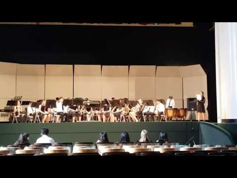 Introduction for Los Coyotes Middle School Wind Ensemble