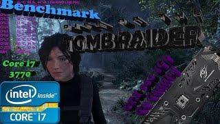 Benchmark - Rise of the Tomb Raider - Core i7 3770 + GTX 960 4Gb