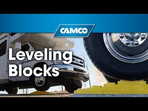 Camco S Rv Leveling Blocks Youtube