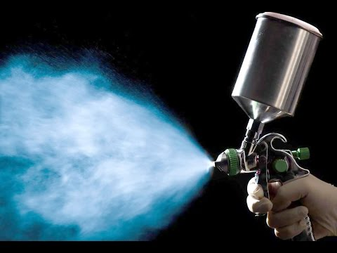 Choosing a Spray System For Finishing A Guitar Part 1