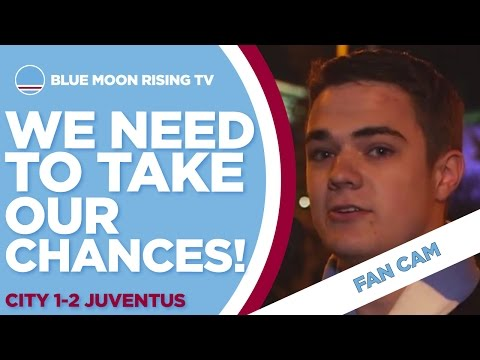 WE NEED TO TAKE OUR CHANCES! | Manchester City 1-2 Juventus | Champions League | FAN CAM