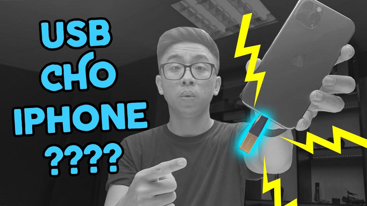 #TechVlog | Đây là USB cho iPhone và iPad? | Tân 1 Cú