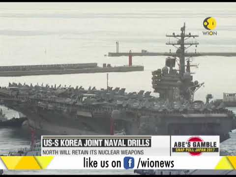 United States-South Korea joint naval drills
