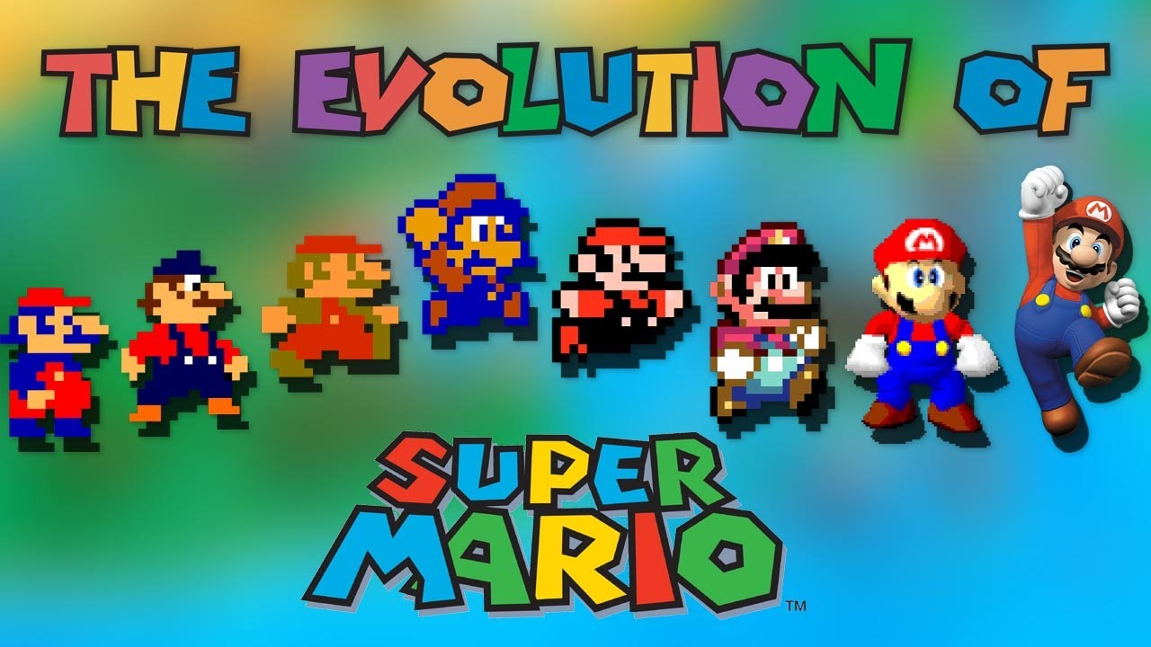 Wallpaper 3d Mario Bros The Evolution Of Super Mario Youtube