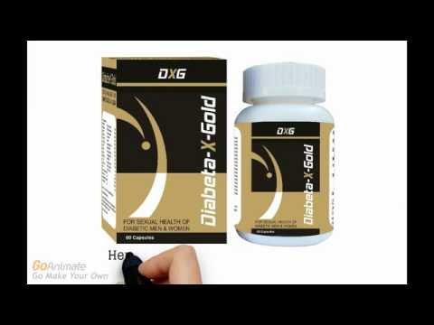 DiabetaXGold-Herbal Medicine for Sexual Health of Diabetic Men, Sperm Count, Libido