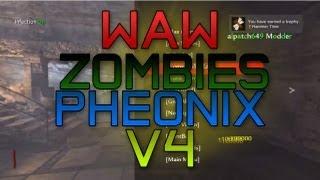 WaW Phoenix V4 Zombies Mod Menu + Platinum Trophy Hack