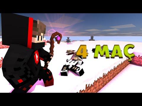 😊 SADECE 4 MAÇ !! 😊 SonOyuncu SkyWars - (MC:SW#2) 😊 Minecraft Skywars , Minecraft Sonoyuncu