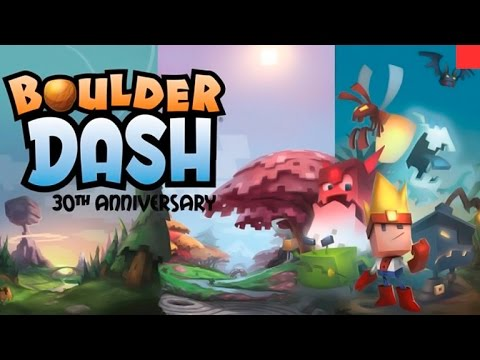 Boulder Dash 30th Anniversary Gameplay - Galvesp Games