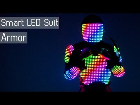 A power of the Light! LED armor from ETEREshop