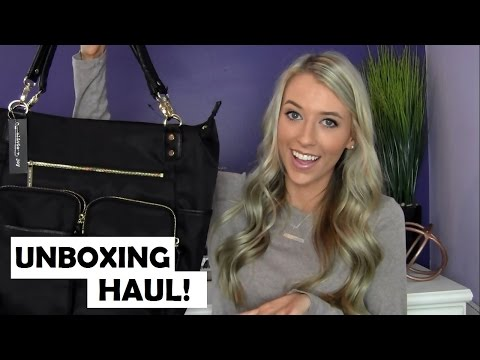 Unboxing Haul + First Impressions: Olivia & Joy Zip Zoom Tote