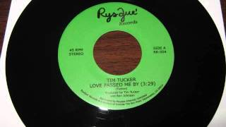 RysQue Records - Tim Tucker - Love Passed Me By - unreleased boogie funk demos