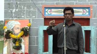 Shivaji Maharaj   Speech  By Yogesh Narode